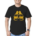 Cats Men's Fitted T-Shirt (dark)