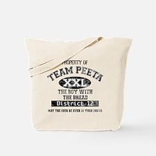 Property of Team Peeta Tote Bag
