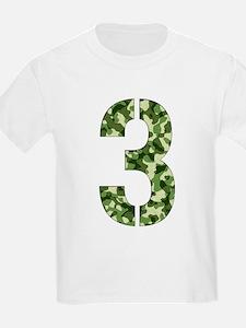 Number 3, Camo T-Shirt