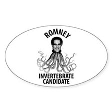 Romney Invertebrate Candidate Decal