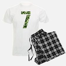 Number 7, Camo Pajamas