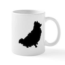 Pomeranian Silhouette Mug