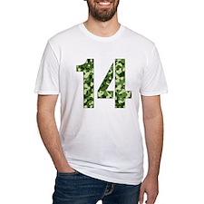 Number 14, Camo Shirt