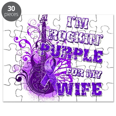 I'm Rockin' Purple for my Wif Puzzle