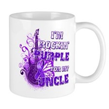 I'm Rockin' Purple for my Unc Mug