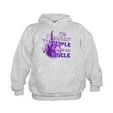I'm Rockin' Purple for my Unc Hoodie