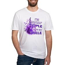 I'm Rockin' Purple for my Unc Shirt