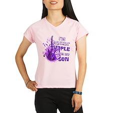 I'm Rockin' Purple for my Son Performance Dry T-Sh