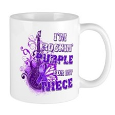 I'm Rockin' Purple for my Nie Mug