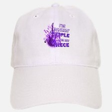 I'm Rockin' Purple for my Nie Baseball Baseball Cap