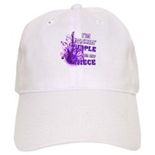 I'm Rockin' Purple for my Nie Baseball Cap