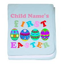 First Easter Keepsake baby blanket