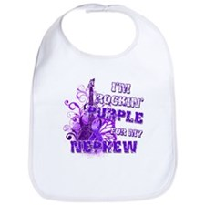 I'm Rockin' Purple for my Nep Bib