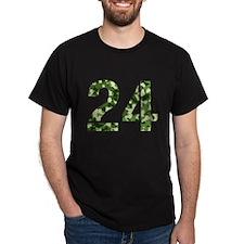 Number 24, Camo T-Shirt