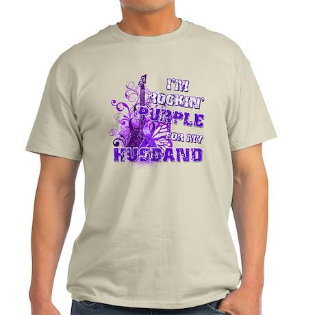 I'm Rockin' Purple for my Hus Light T-Shirt
