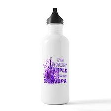 I'm Rockin' Purple for my Gra Water Bottle