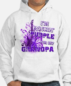 I'm Rockin' Purple for my Gra Hoodie