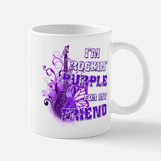 I'm Rockin' Purple for my Fri Mug