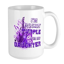I'm Rockin' Purple for my Dau Mug