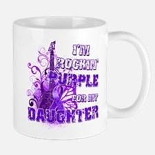 I'm Rockin' Purple for my Dau Mug