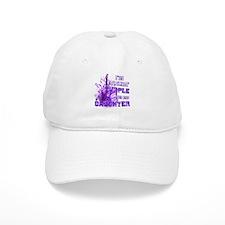 I'm Rockin' Purple for my Dau Baseball Cap
