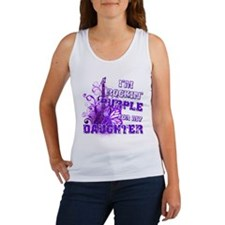 I'm Rockin' Purple for my Dau Women's Tank Top