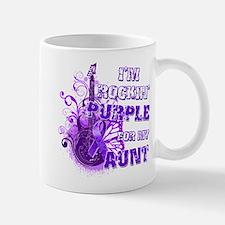 I'm Rockin' Purple for my Aun Mug