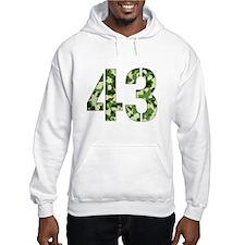 Number 43, Camo Hoodie