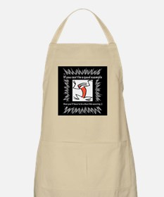 lol Example or Warning Apron