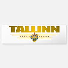 """""""Tallinn"""" Bumper Bumper Sticker"""