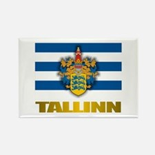 """Tallinn"" Rectangle Magnet"