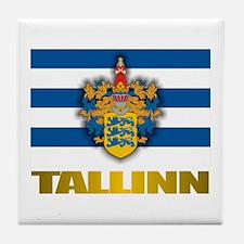 """""""Tallinn"""" Tile Coaster"""