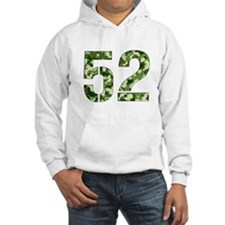 Number 52, Camo Hoodie