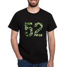 Number 52, Camo T-Shirt