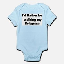 Rather: Bolognese Infant Creeper