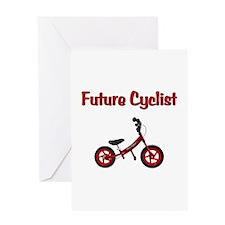 Future Cyclist Greeting Card