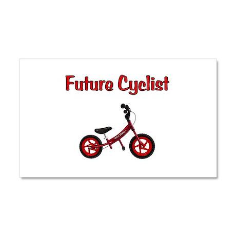 Future Cyclist Car Magnet 20 x 12