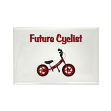 Future Cyclist Rectangle Magnet (10 pack)