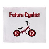 Bicycle Fleece Blankets