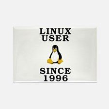 Linux user since 1996 - Rectangle Magnet