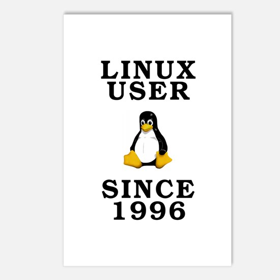 Linux user since 1996 - Postcards (Package of 8)