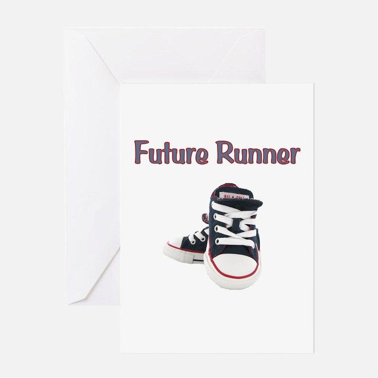 Future Runner Greeting Card