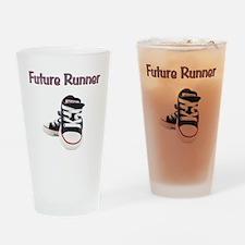 Future Runner Drinking Glass