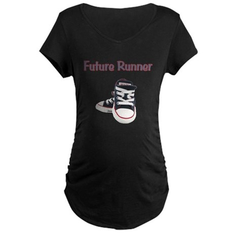 Future Runner Maternity Dark T-Shirt