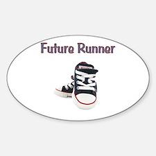 Future Runner Sticker (Oval)