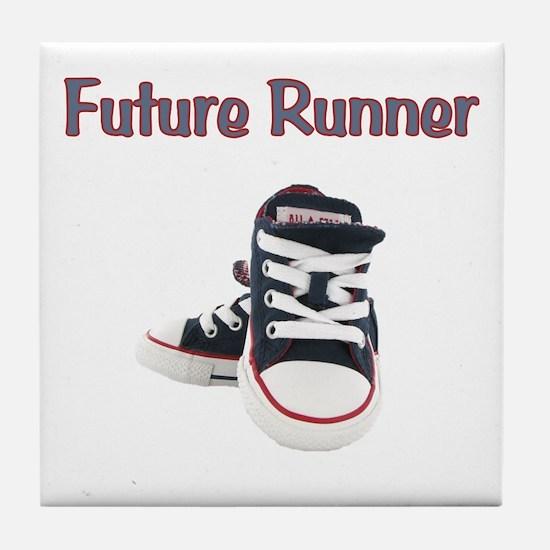 Future Runner Tile Coaster