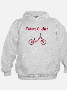 Future Girl Cyclist Hoodie
