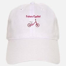 Future Girl Cyclist Baseball Baseball Cap