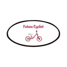 Future Girl Cyclist Patches