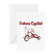 Future Cyclist Trike Greeting Card